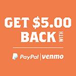 Get $5.00 Back